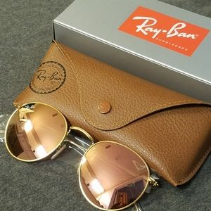 Ray-Ban Sunglasses Round Metal Cooper Flash